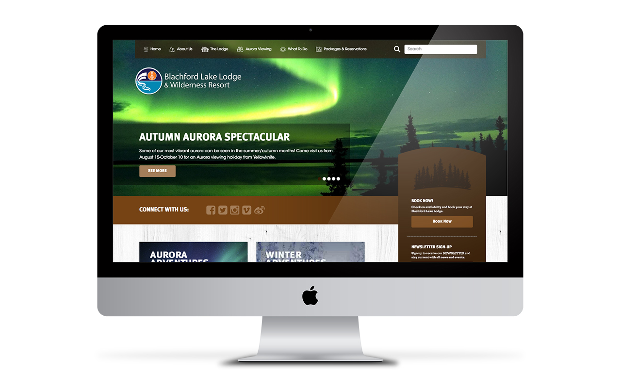 Blachford Lake Lodge Website