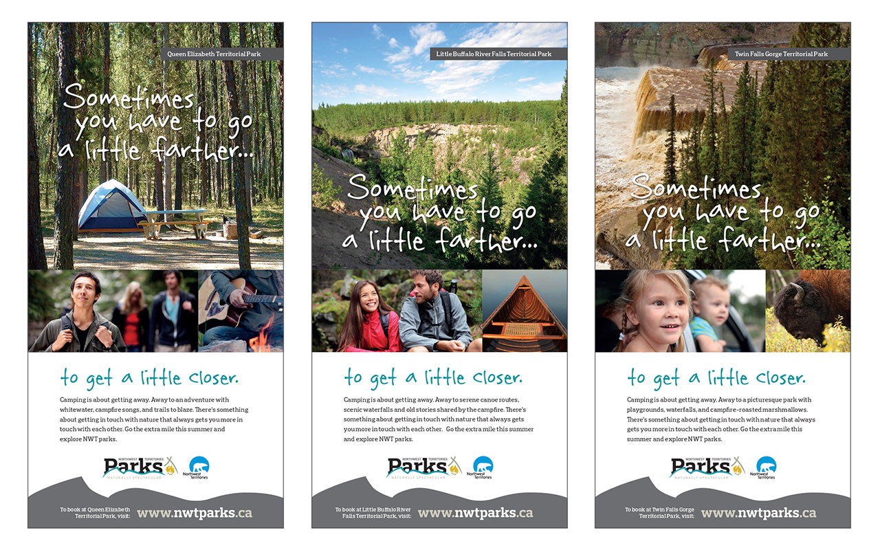 NWT Parks Ad Campaign