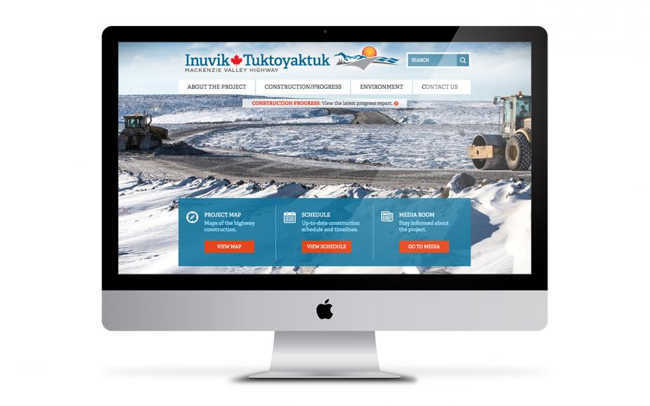 Inuvik Tuktoyaktuk Mackenzie Valley Highway Project